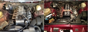 Engine Before & After